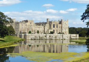 Raby Castle from the Low Pond