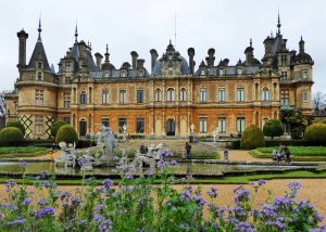 Waddesdon Manor and parterre