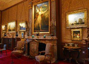 Waddesdon Manor: Joshua Reynolds painting Thaïs