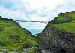 Bridge across to Tintagel Castle