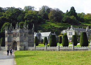 The Gatehouse entrance to Lanhydrock House