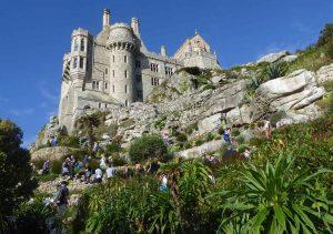Cornwall: St Michael's Mount Terraced Gardens
