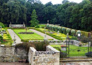 Formal Garden at Seaton Delaval Hall