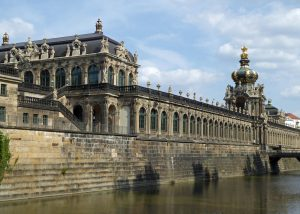 German Cities: Zwinger Palace in Dresden