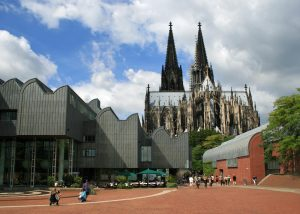 Museum Ludwig and Cologne Cathedral