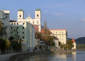 Passau Walk beside the River Inn
