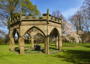 Renishaw: The Gothick Temple on the Top Lawn