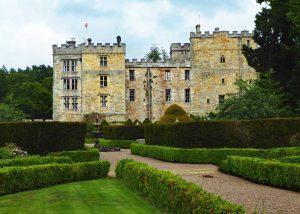Chillingham Castle from the Italian Garden