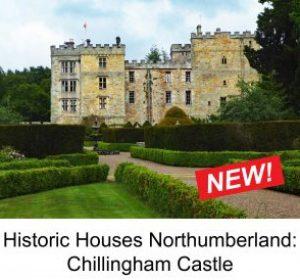 Chillingham Castle from the Garden 1