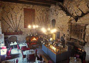 Chillingham: Tea Room from the Balcony