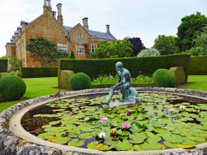 Holdenby House from the Pond Garden